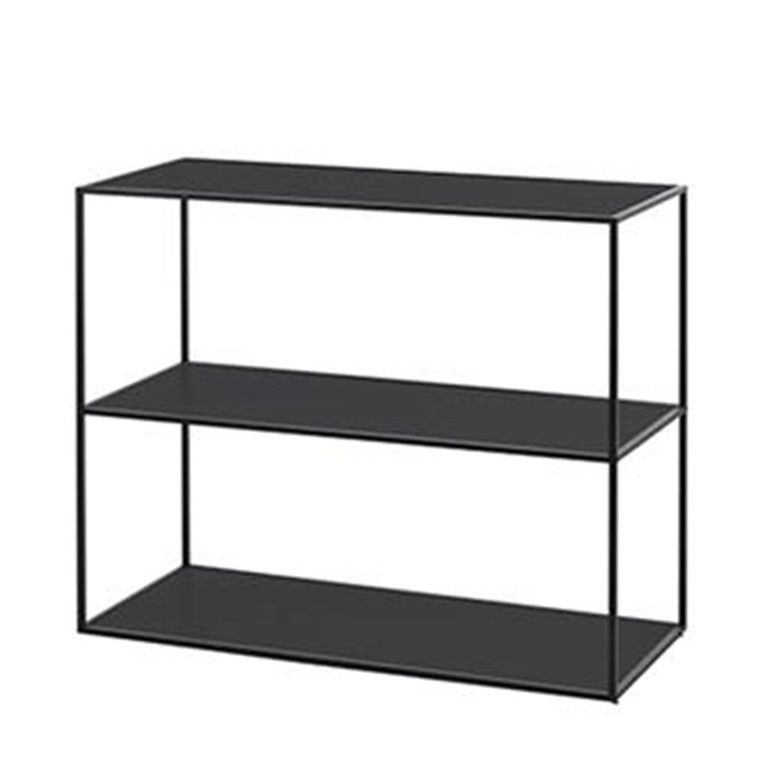 By Lassen Twin Bookcase Reol Sort Lille
