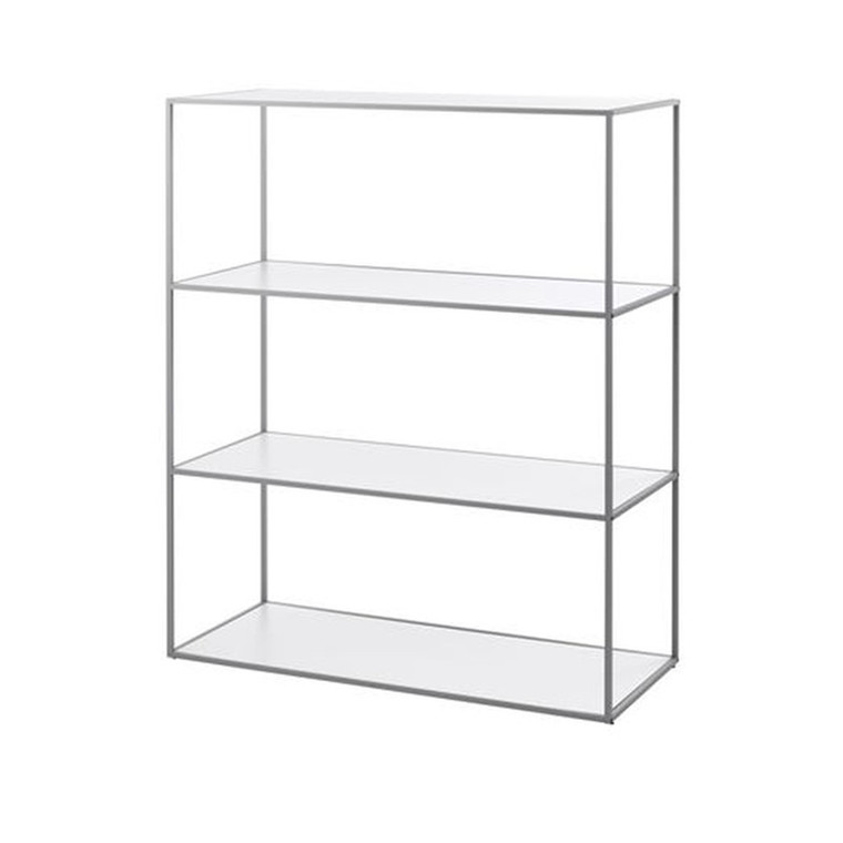 By Lassen Twin Bookcase Reol Cool Grey Stor