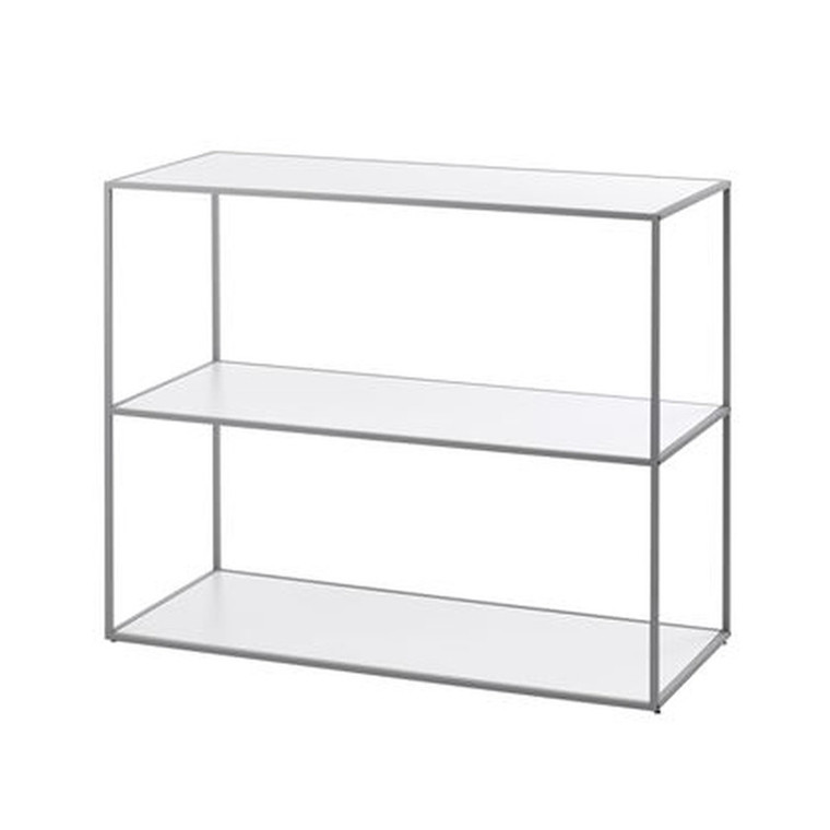 By Lassen Twin Bookcase Reol Cool Grey Lille
