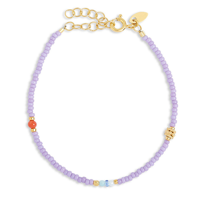 By Thiim Simplicity Deluxe Light Purple Armbånd