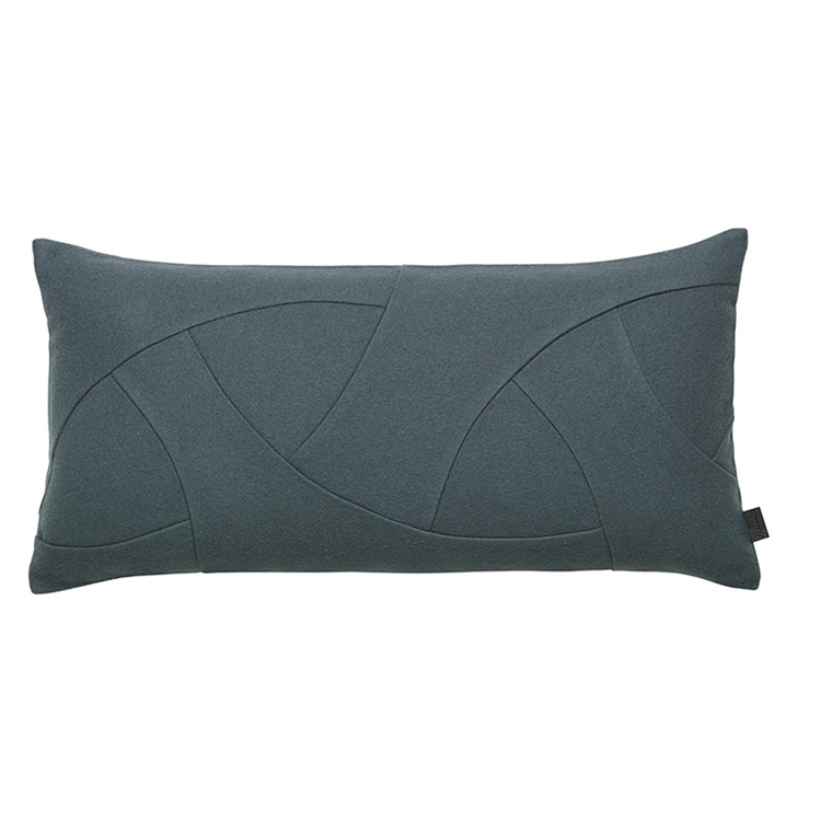 By Lassen Flow Cushion, Hero, 35x70 grey-green