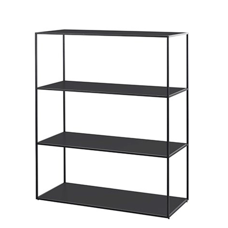 By Lassen Twin Bookcase Reol Sort Stor