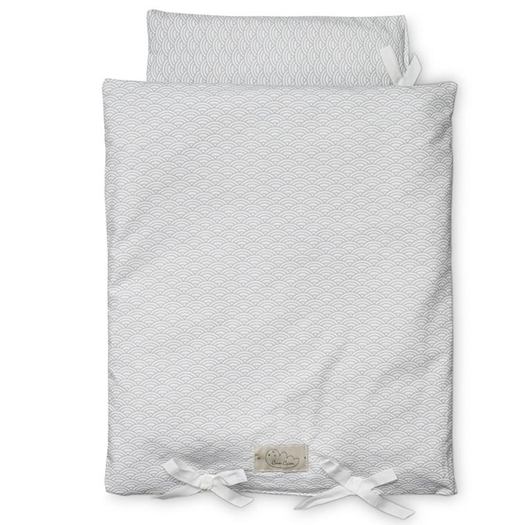 Cam Cam Dukkesengetøj Grey Wave