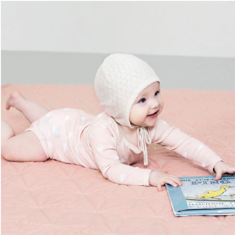 Cam Cam Baby Quilt Blush