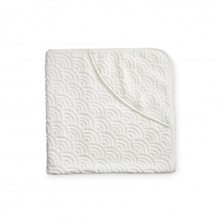 Cam Cam Baby Håndklæde m. Hætte Off Hvid