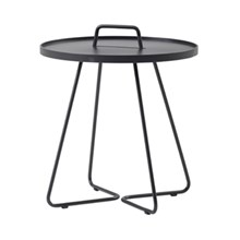 Cane-line On-the-move sidebord, Stor Antracit