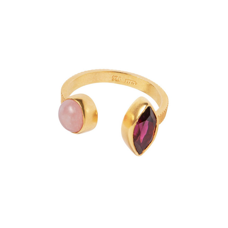 Carré Ring Gem Candy Guld