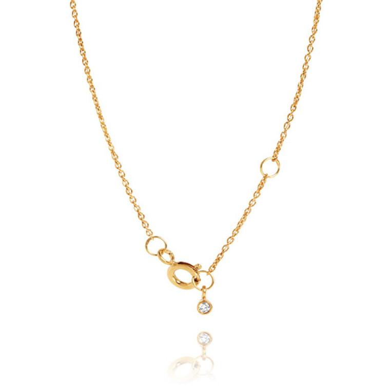 Carré Halskæde Chain Gang Guld