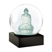 Coolsnowglobes Snow Globe Crystal Buddha