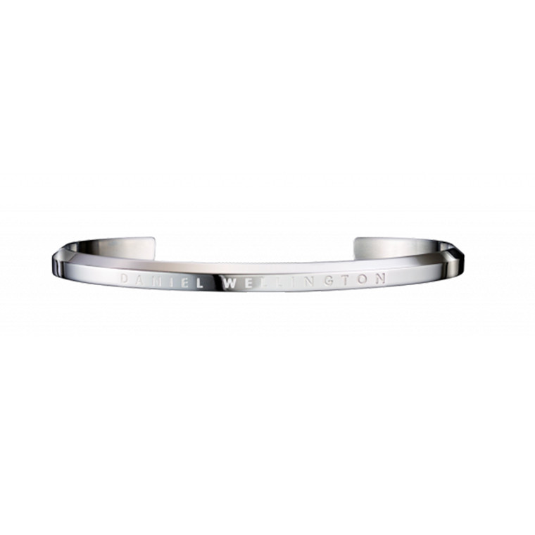 Daniel Wellington Armbånd Classic Cuff, Large, Sølv