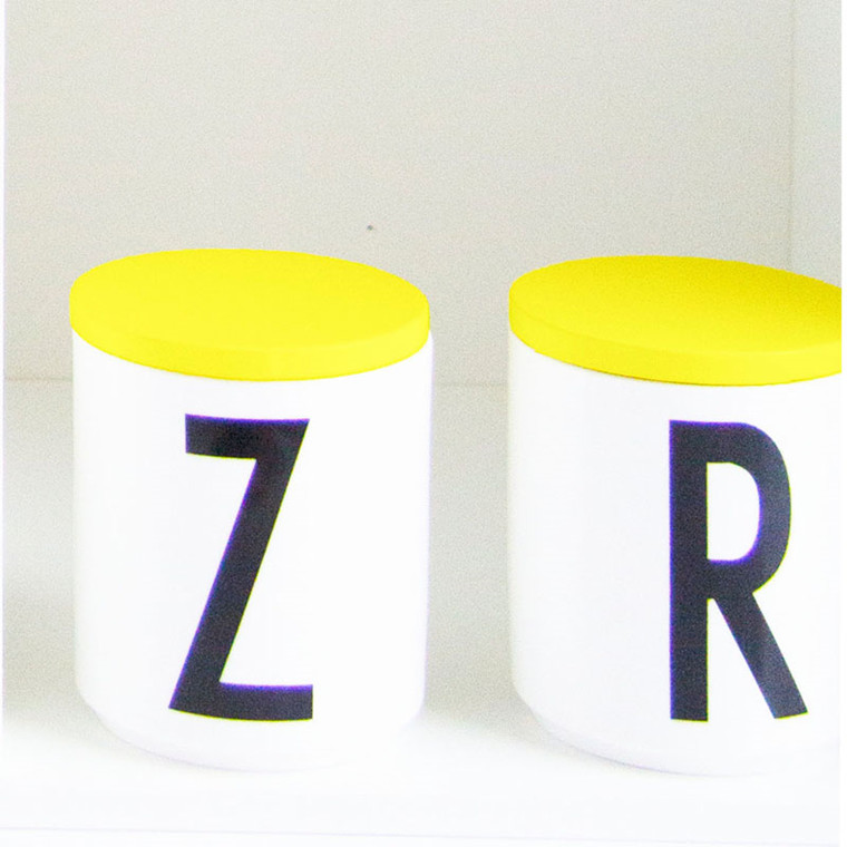 Design Letters Låg - Gul