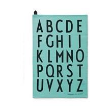 Design Letters Viskestykke Turkis - 2 stk.
