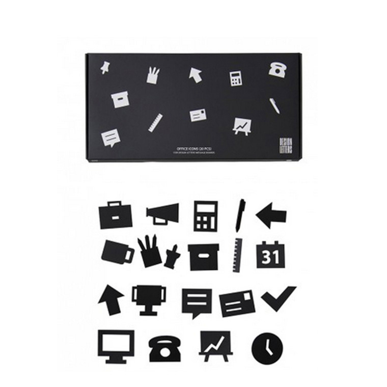 Design Letters Office icons for Message Boards Sort