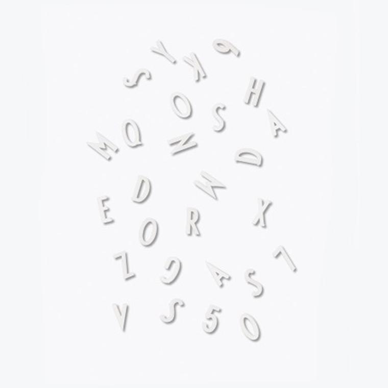 Design Letters Bogstav Boks Hvid