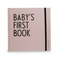 Design Letters Babybog Baby's First Book Pink