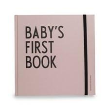Design Letters Babybog Baby's First Book Pink