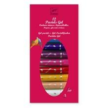 Djeco Gel farver - 12 pigefarver
