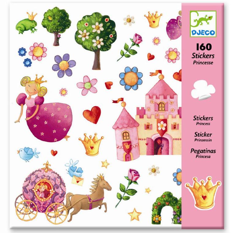 Djeco Klistermærker - Prinsesse Marguerite