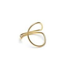 Louise Kragh Enamel circle fingerring Guld