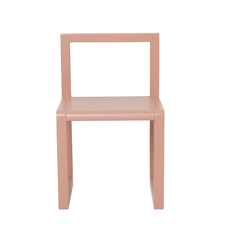 Ferm Living Børnestol, Little Architect Chair, Rose