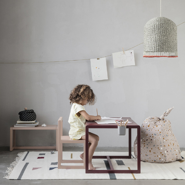 Ferm Living Little Architect Table - Bordeaux