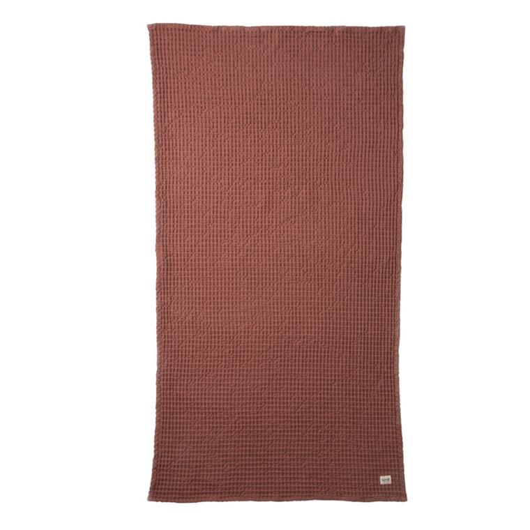 Ferm Living Badehåndklæde Rust