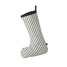 Ferm Living Julesok Grey Stripe