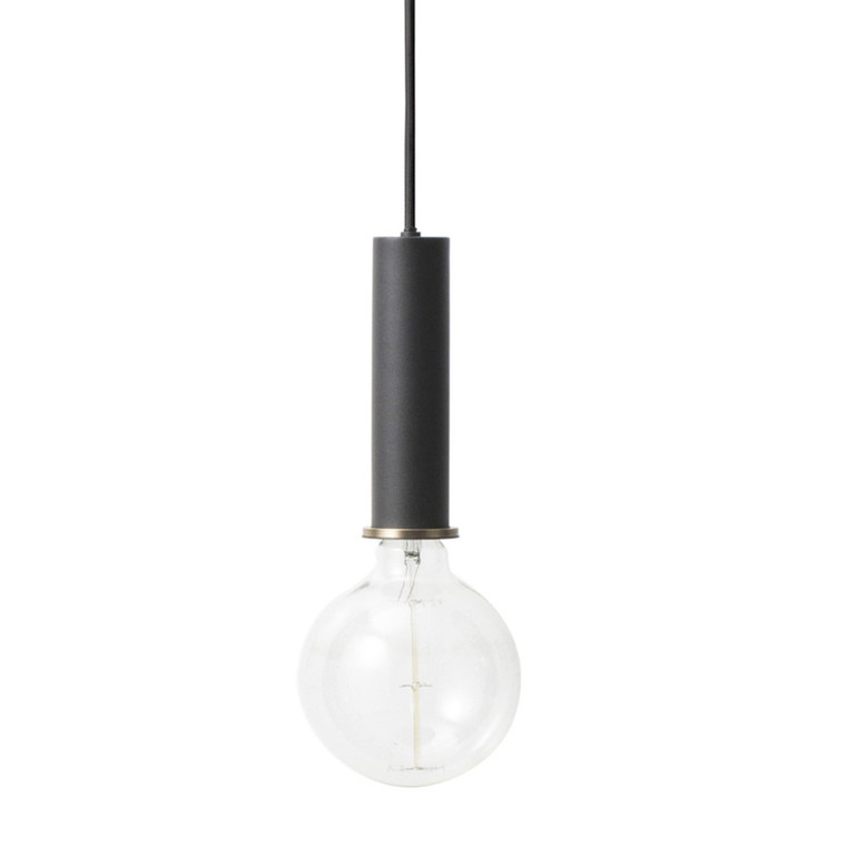 Ferm Living Collect Lightning Fatning Sort Høj
