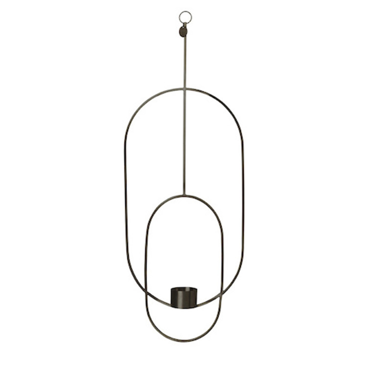 Ferm Living Hanging Tealight Deco, Oval Sort