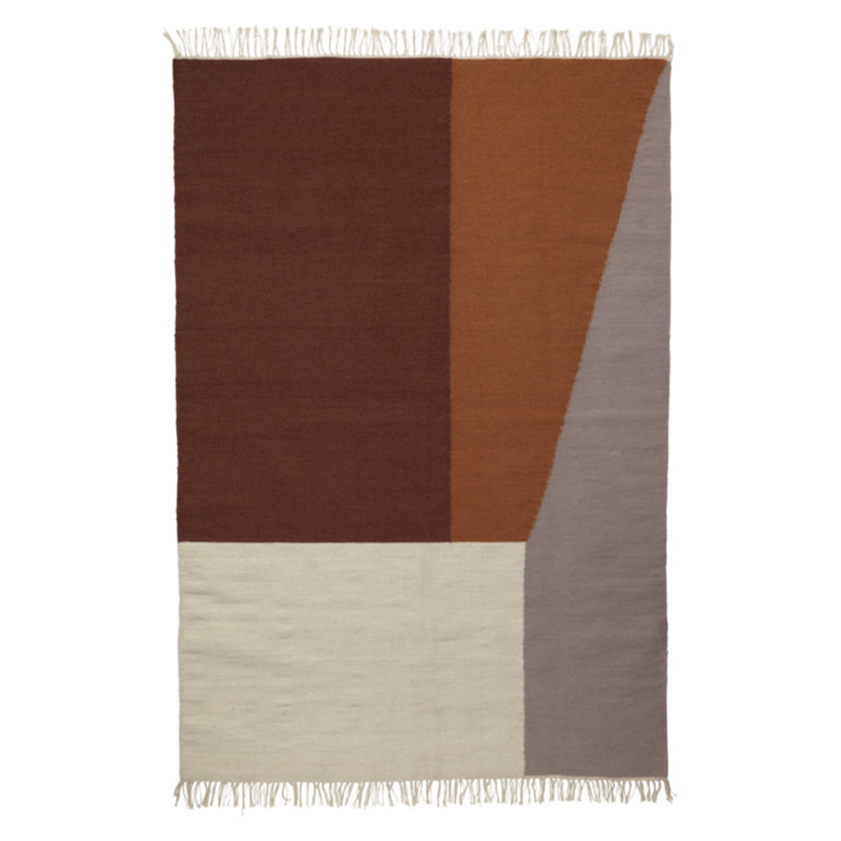 Ferm Living Kelim Rug Borders XL