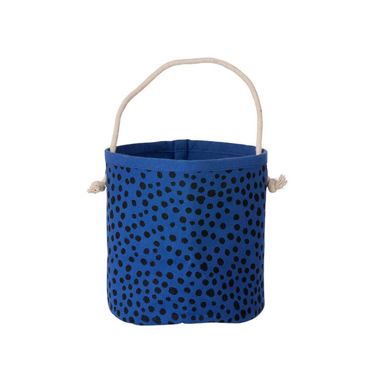 Ferm Living Mini Basket Blå