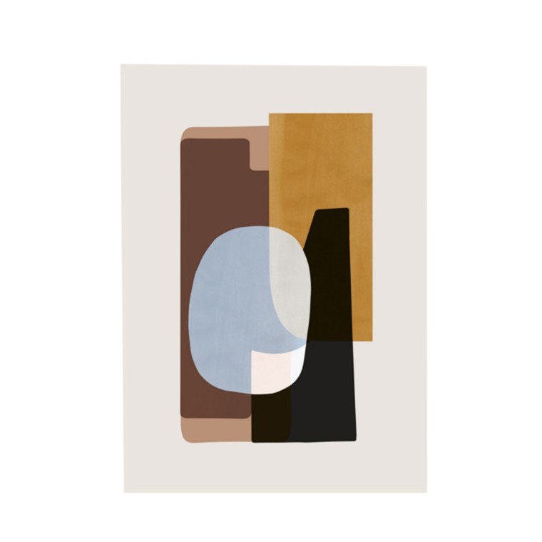 Ferm Living Plakat Abstraction 1