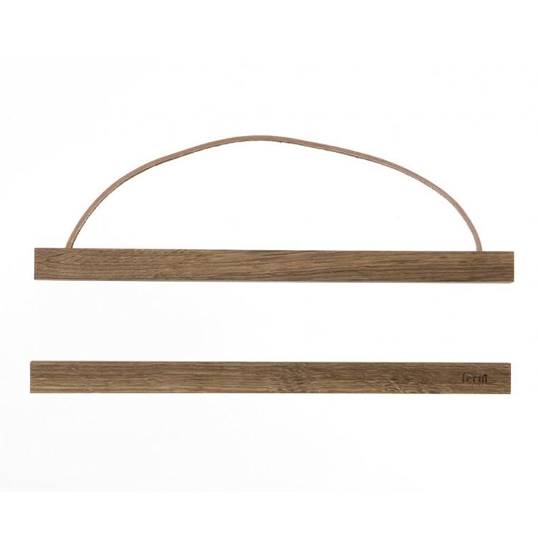 Ferm Living Wooden Frame Røget Eg