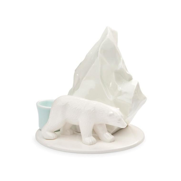 Finnsdottir Lysestage Isbjørn