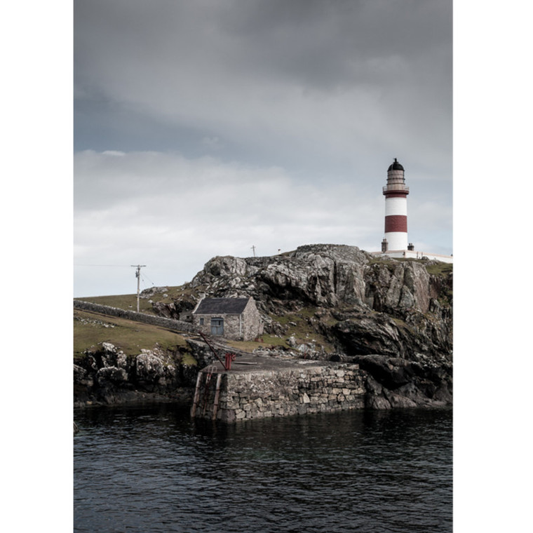 Foto Factory Fotoplakat Fyrtårn på Isle of Scalpay