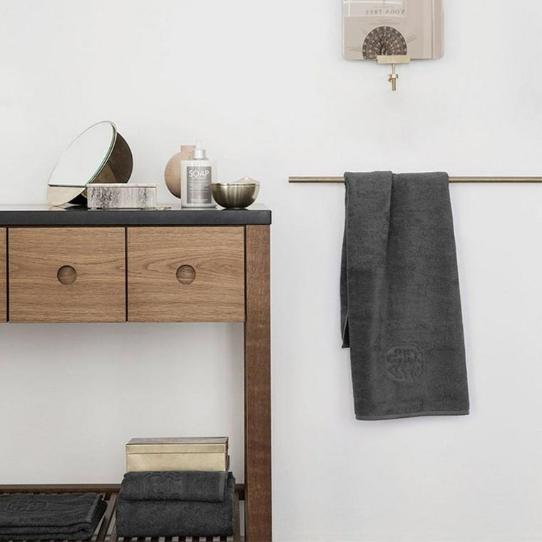 georg jensen damask terry h ndkl de slate. Black Bedroom Furniture Sets. Home Design Ideas