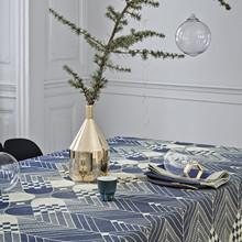 Georg Jensen Juledug Blå og guld