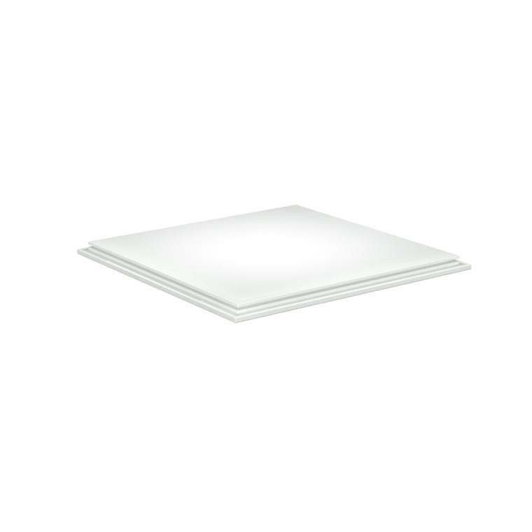 GRID Top/bund Hvid