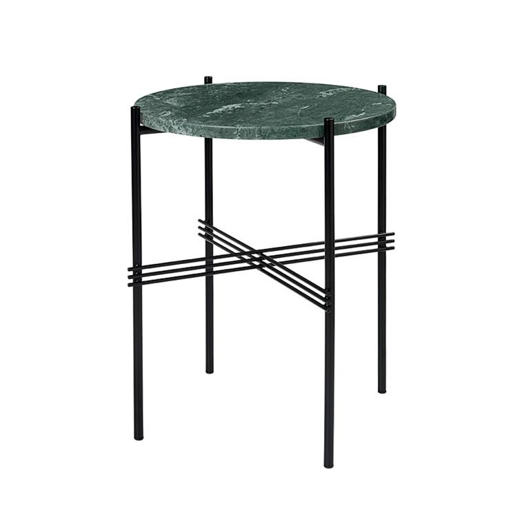 Gubi TS Lounge Table grøn marmor lille