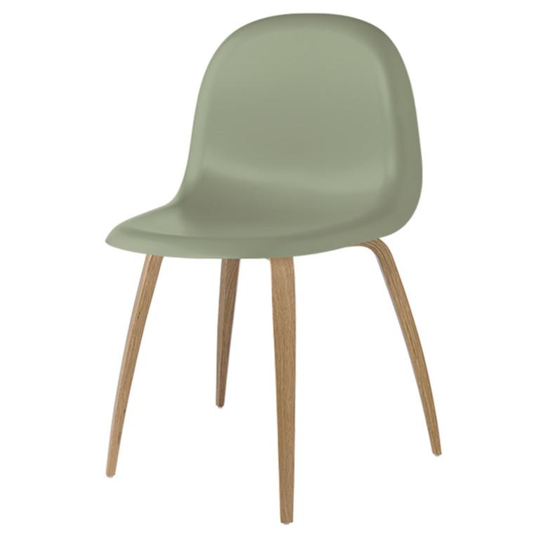 Gubi 5 Stol HiRek Misletoe green - ege base