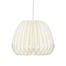 Hübsch Papirlampe Hvid