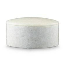 H. Skjalm P. Marmor Box Hvid