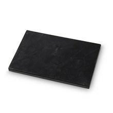H. Skjalm P. Marmor Plade Sort 15x23 cm
