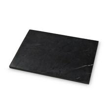 H. Skjalm P. Marmor Plade Sort 24x35 cm