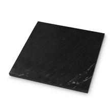 H. Skjalm P. Marmor Plade Sort 30x30 cm