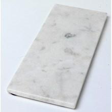 H. Skjalm P. Marmor Plade Hvid 15x40