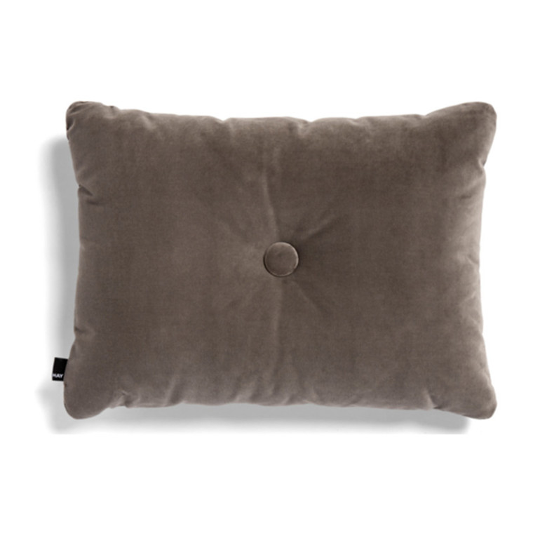HAY Dot Cushion 1 Dot Soft Pude Warm Grey