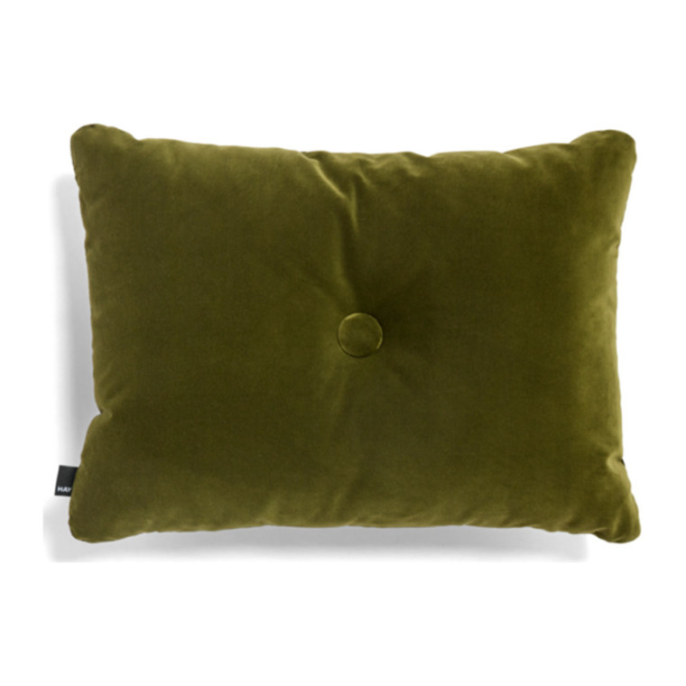 HAY Dot Cushion 1 Dot Soft Pude Moss