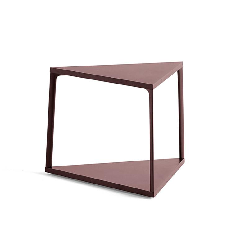 HAY Eiffel Sidebord Triangle Dark Brick