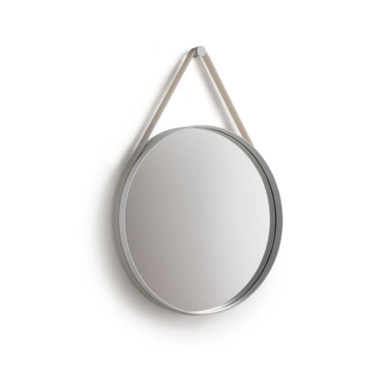 HAY Strap Mirror Spejl Ø50 Grå